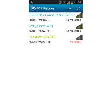 WLAN mit Android App hacken