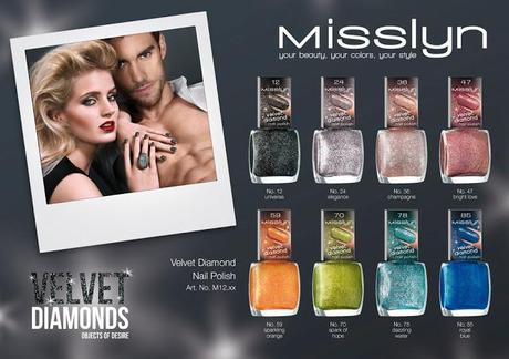 Misslyn Velvet Diamonds - Objects of Desire - Sandstyle mit Blingbling
