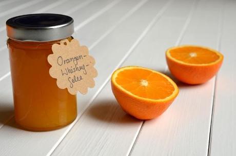Orangen-Whiskey-Gelee (Brotaufstrich)