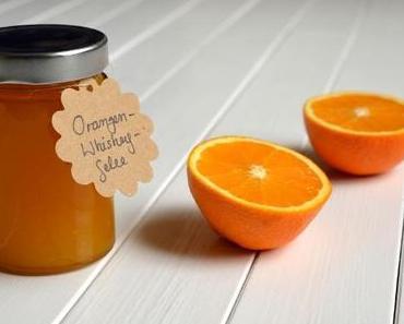Orangen-Whiskey-Gelee: Sonne auf's Brot!