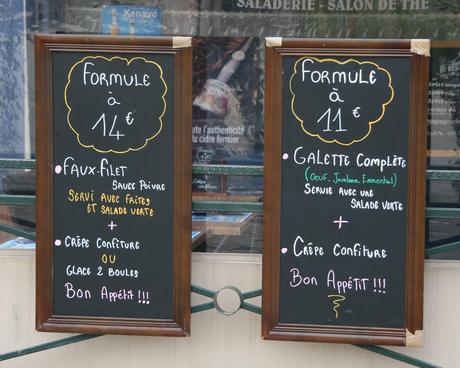 Mittags in Frankreich