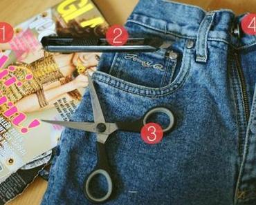 DIY: Shredded Shorts