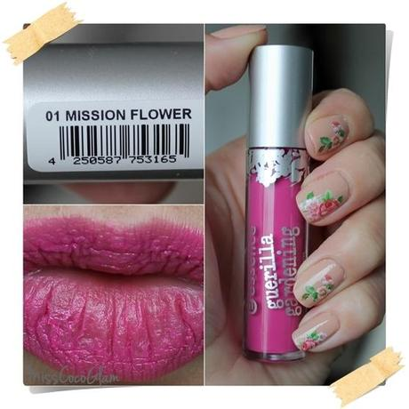 Essence 'Guerilla Gardening' Limited Edition [Lip Cream - 01 Mission Flower] *Review*