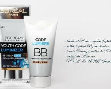 BB Cream by LÓREAL with a touch of Transparent Powder