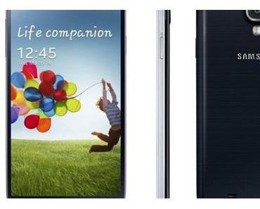 Samsung Galaxy S4: Auf den Boden geworfen und auseinander genommen