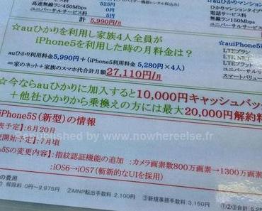 Gerücht: iPhone 5S Vorstellung am 20. Juni, Verkaufsstart im Juli?