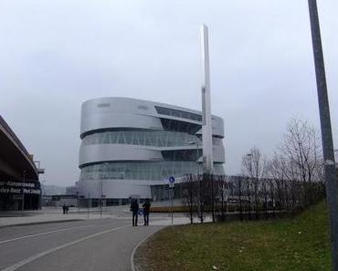 Stuttgart Ausflug | Mercedes Benz Museum