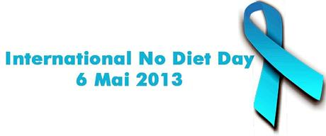 Kuriose Feiertage - 6. Mai- International No Diet Day (c) 2013 www.kuriose-feiertage.de