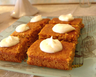 Karotten- Kuchen- Rezept / Endlich!