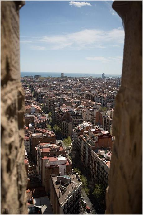 Sagrada Família - Tour to the tower of the Cathedral with view over Barcelona
