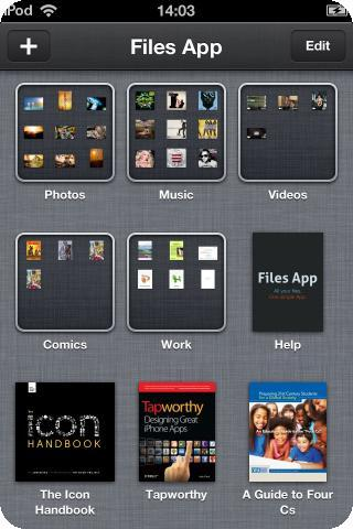 Files App iphone apps