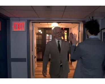 Steve Martin auf dem Weg zur Jimmy Fallon Late Night Show
