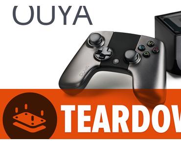 OUYA: Android-Spielekonsole Stück für Stück zerlegt