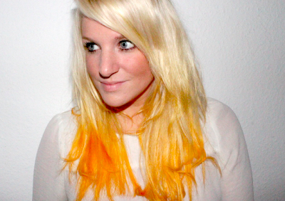 New Hair: Apricot.