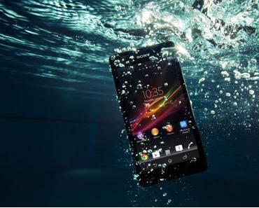 Sony Xperia ZR: Wasserfestes Smartphone offiziell vorgestellt
