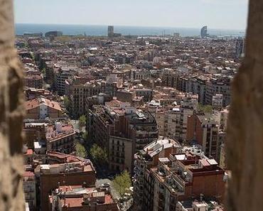 Sagrada Família – eine der besten Aussichten über Barcelona