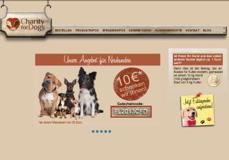 Charity for Dogs – wenn gutes Futter und Tierschutz zusammenkommen
