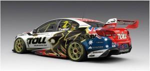 Einige neue Designs beim V8 Supercars USA Debut