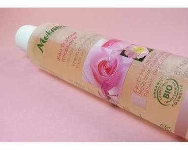 Ich liebe Mizellenlösungen! Diesmal aus dem Naturkosmetikbereich: MELVITA Mizellar Reinigungswasser Rose