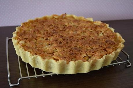 Almond Crusted Apple Pie