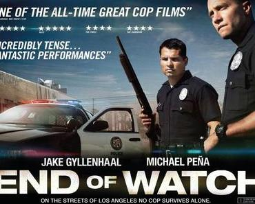 Review: END OF WATCH - L.A. aus der Sicht von Cops