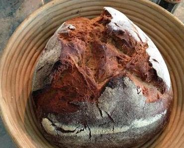 Buttermilchbrot oder mein Brot, das hat drei Ecken