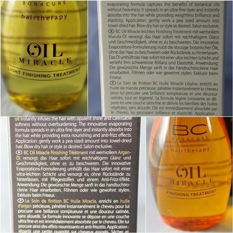 BC Bonacure [Oil Miracle Treatments] *Review*