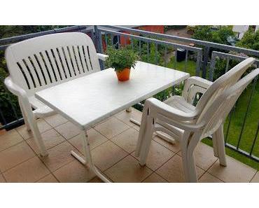 Neue Balkonmöbel - wenn dann mal der Sommer kommt