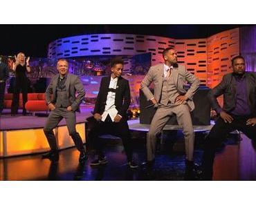 Will Smith, DJ Jazzy Jeff und Alfonso Ribeiro Rap- und Tanzeinlage bei BBC
