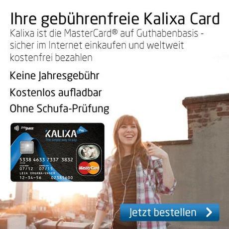 Prepaid Kreditkarte Kalixa