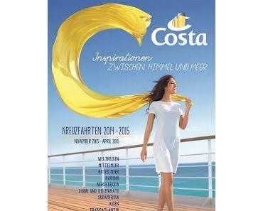 Costa Kreuzfahrten stellt Katalog 2014/15 mit 1.000 Kreuzfahrten und neuem Flaggschiff Costa Diadema vor