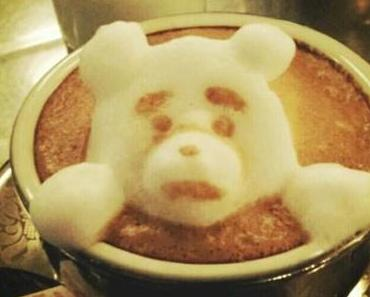 3D Kaffee Kunst von Kazuki Yamamoto