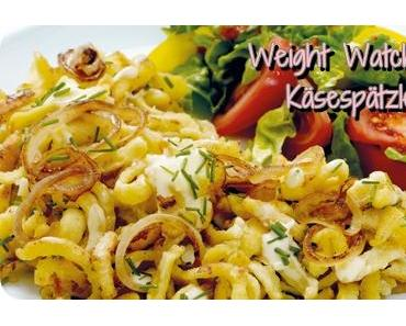[Rezept] Weight Watchers Käsespätzle