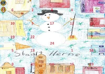 Adventskalender des LEO-Club Herne