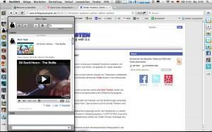 Der perfekte Social-Media-Browser? RockMelt vs. Flock