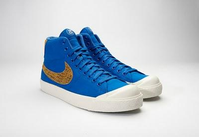 Nike All Court Mid x Stüssy - blau