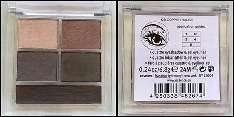 Review: essence Metallics Quattro ;)