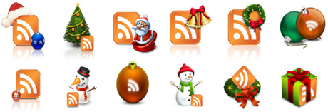 Icons Social Snow By Sultan Design-d30llxi4 in 10 weihnachtliche Social Media Icon Sets