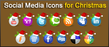 Icons Social Snow By Sultan Design-d30llxi1 in 10 weihnachtliche Social Media Icon Sets
