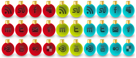 Icons Social Snow By Sultan Design-d30llxi3 in 10 weihnachtliche Social Media Icon Sets
