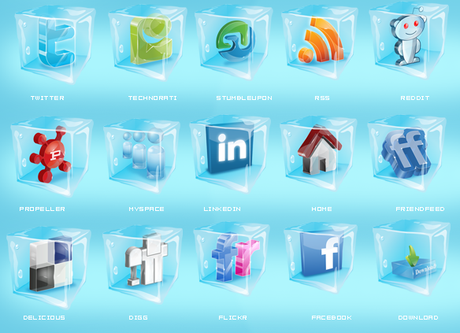 Icons Social Snow By Sultan Design-d30llxi in 10 weihnachtliche Social Media Icon Sets