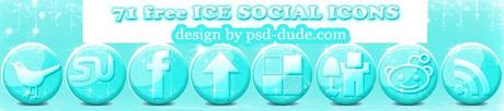 Free-ice-icons-small in 10 weihnachtliche Social Media Icon Sets