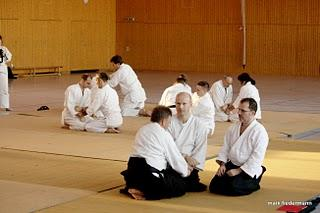 4. Deutsch-Polnisches Aikido Seminar mit Michael Winter November 2010 in Berlin Hellerdorf