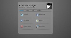 Antagonist in Erstelle deine Online Visitenkarte
