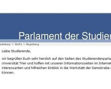 StuPa-Wahl an der Uni Trier: Die Programme der Hochschulgruppen