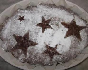 Ein köstliches Rezept für weihnachtliche Schokoladen-Brownies. Danke liebe Laura!