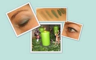 1. Advent: Augen Make-Up & Swatches