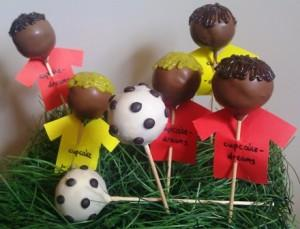 cake pops zum champions league fu ball finale. Black Bedroom Furniture Sets. Home Design Ideas