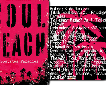 "|Rezension| ""Soul Beach 01 - Frostiges Paradies"" von Kate Harrison"