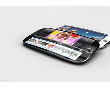 Konzepte: iPhone 6 mit 4,8-Zoll Display & iPhone mit gewölbtem Bildschirm
